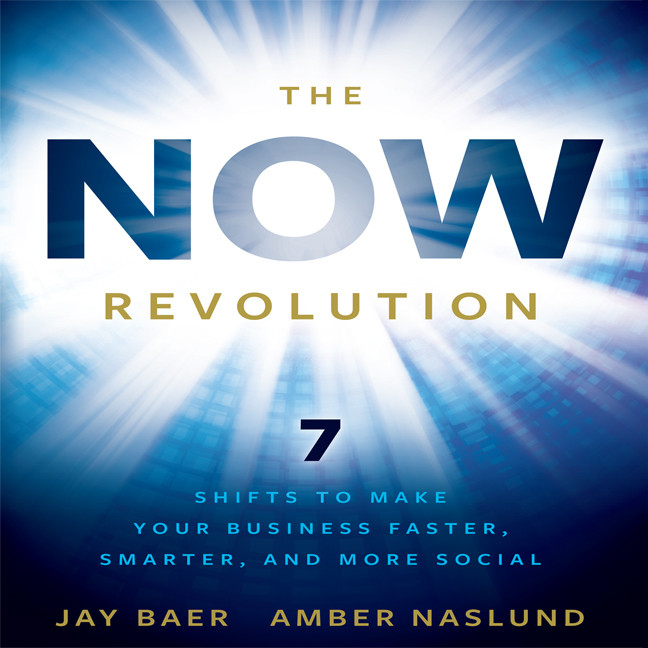 Printable The Now Revolution: 7 Shifts to Make Your Business Faster, Smarter and More Social Audiobook Cover Art