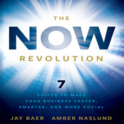 The Now Revolution: 7 Shifts to Make Your Business Faster, Smarter and More Social, by Amber Naslund, Jay Baer