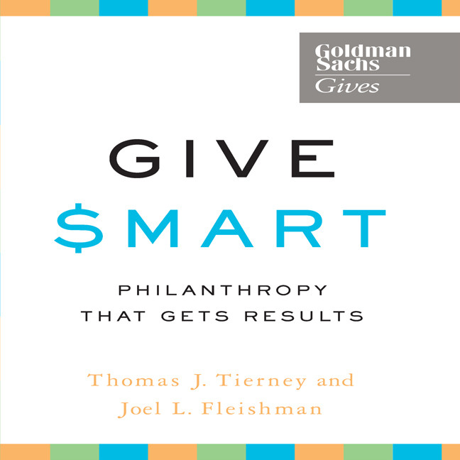 Printable Give Smart: Philanthropy that Gets Results Audiobook Cover Art