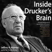 Inside Druckers Brain Audiobook, by Jeffrey Krames