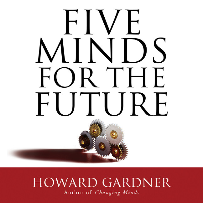 Printable Five Minds for the Future Audiobook Cover Art