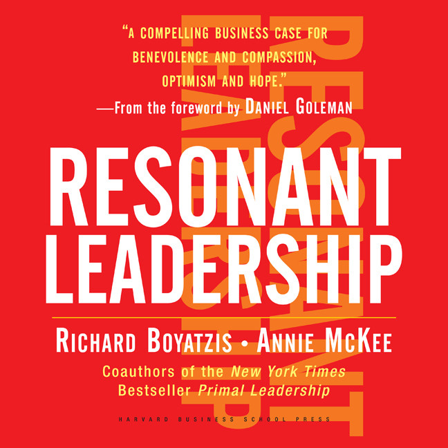 Printable Resonant Leadership Audiobook Cover Art