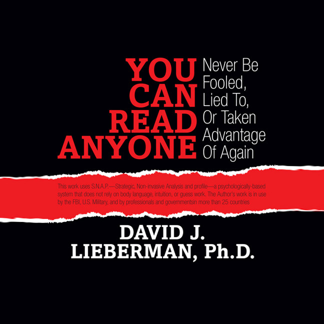 Printable You Can Read Anyone: Never Be Fooled, Lied To, or Taken Advantage of Again Audiobook Cover Art