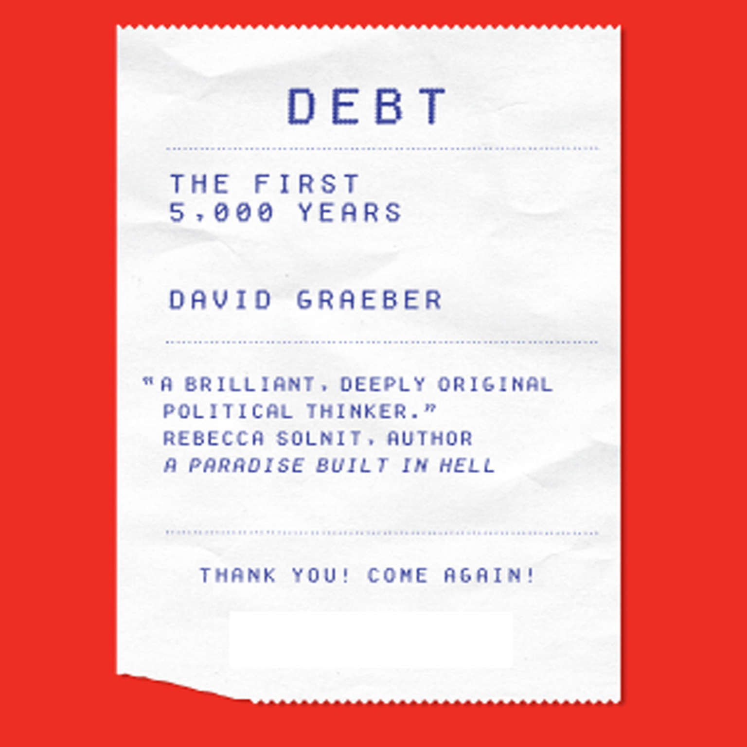 Printable Debt: The First 5,000 Years Audiobook Cover Art