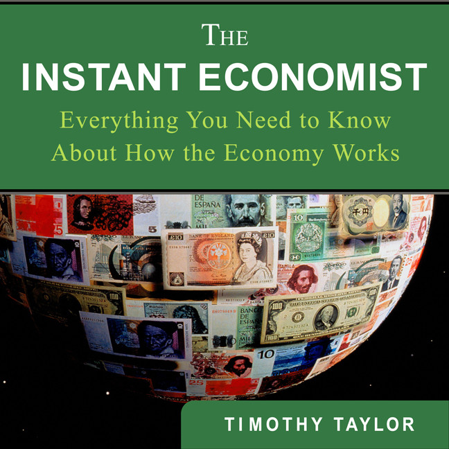 Printable The Instant Economist: Everything You Need to Know about How the Economy Works Audiobook Cover Art