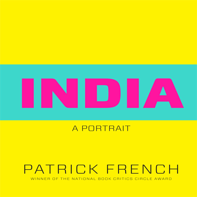 Printable India: A Portrait Audiobook Cover Art