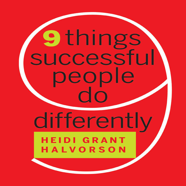 Printable Nine Things Successful People Do Differently Audiobook Cover Art