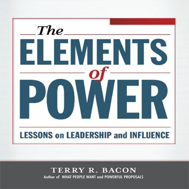 Printable Elements of Power: Lessons on Leadership and Influence Audiobook Cover Art