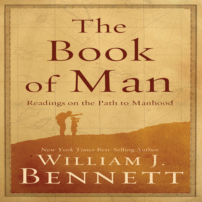 Printable The Book of Man: Readings on the Path to Manhood Audiobook Cover Art