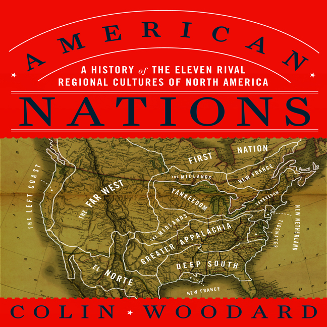 Printable American Nations: A History of the Eleven Rival Regional Cultures of North America Audiobook Cover Art