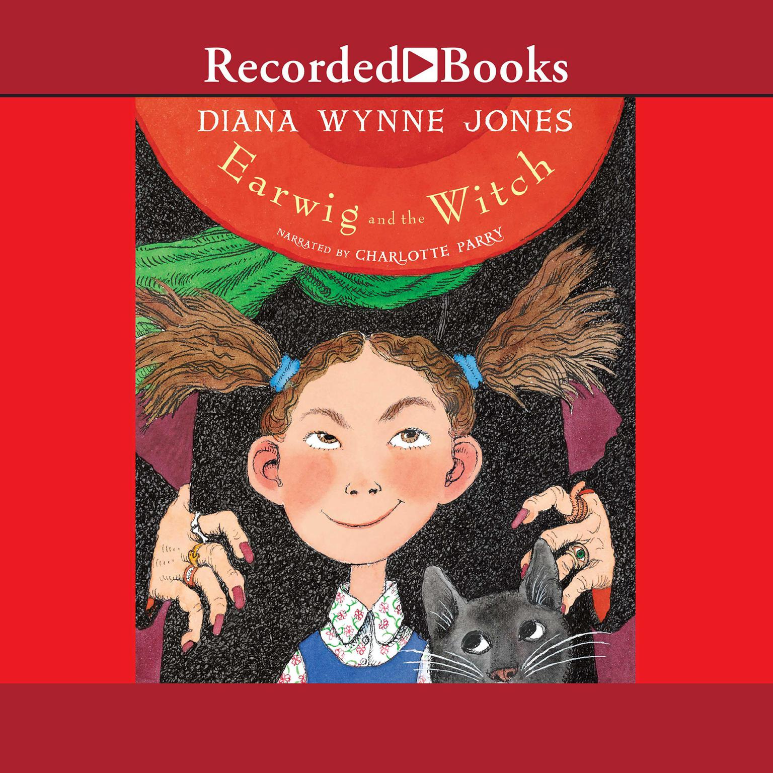 Printable Earwig and the Witch Audiobook Cover Art