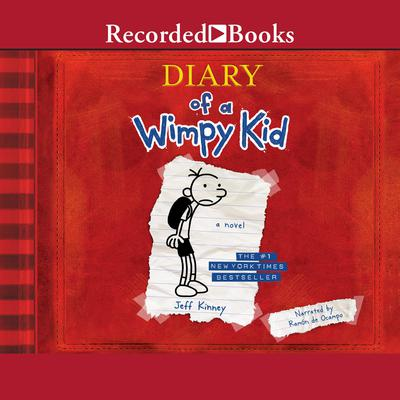 Diary of a Wimpy Kid Audiobook, by Jeff Kinney