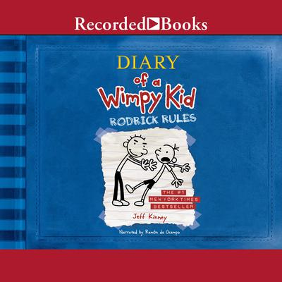 Rodrick Rules Audiobook, by Jeff Kinney