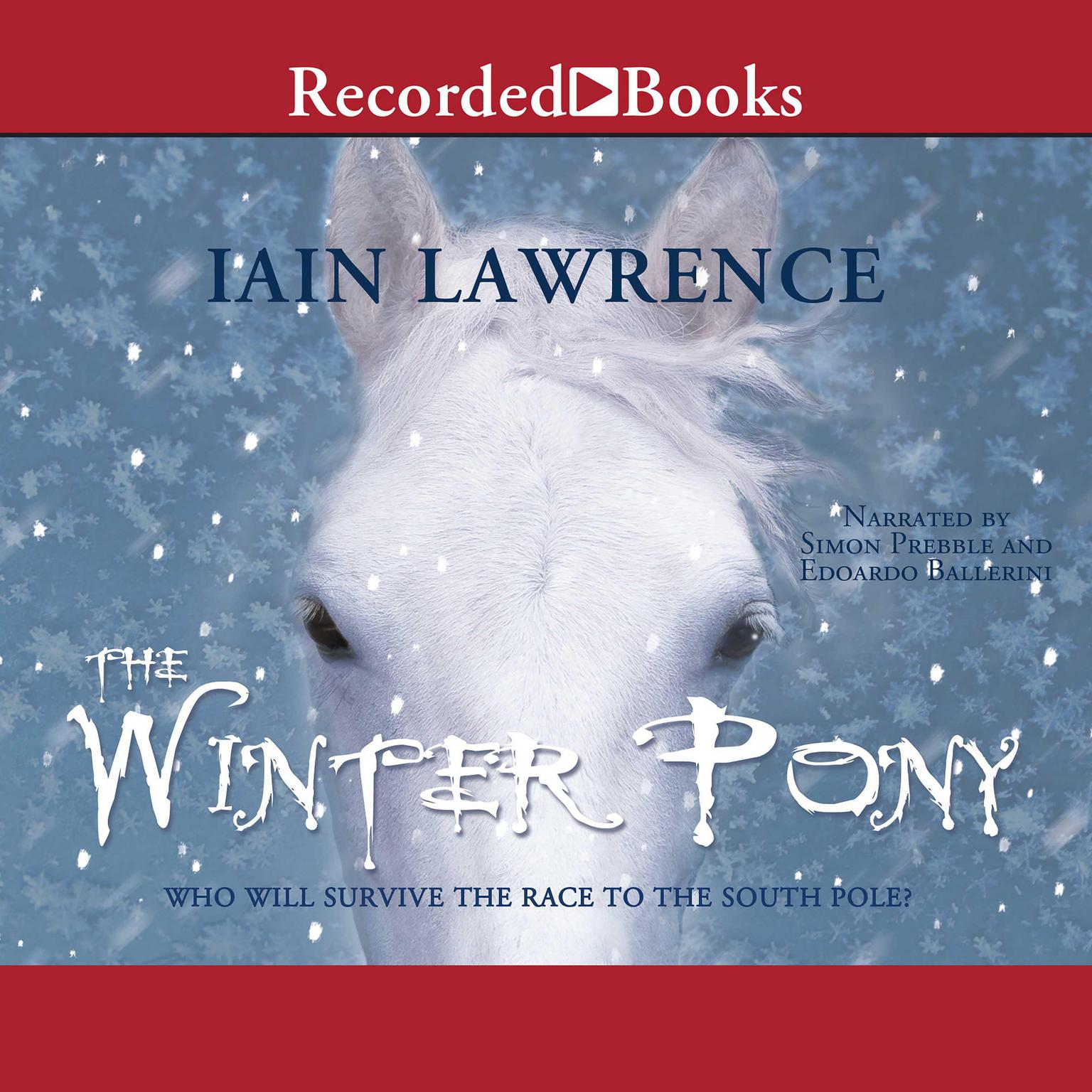 Printable The Winter Pony Audiobook Cover Art