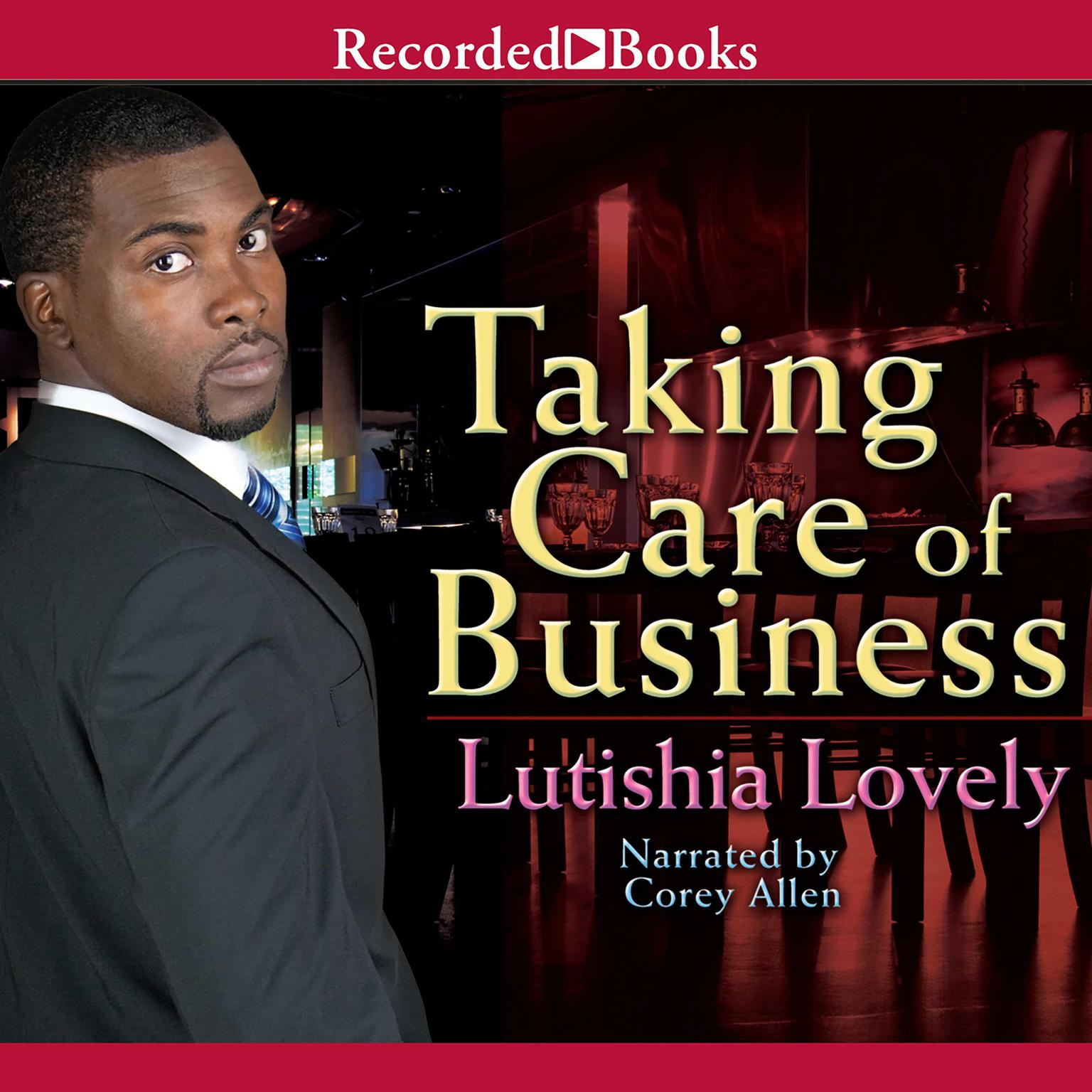 Printable Taking Care of Business Audiobook Cover Art