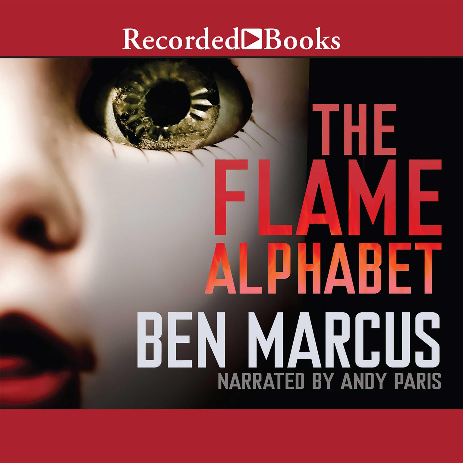 Printable The Flame Alphabet Audiobook Cover Art