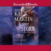 Against the Storm Audiobook, by Kat Martin