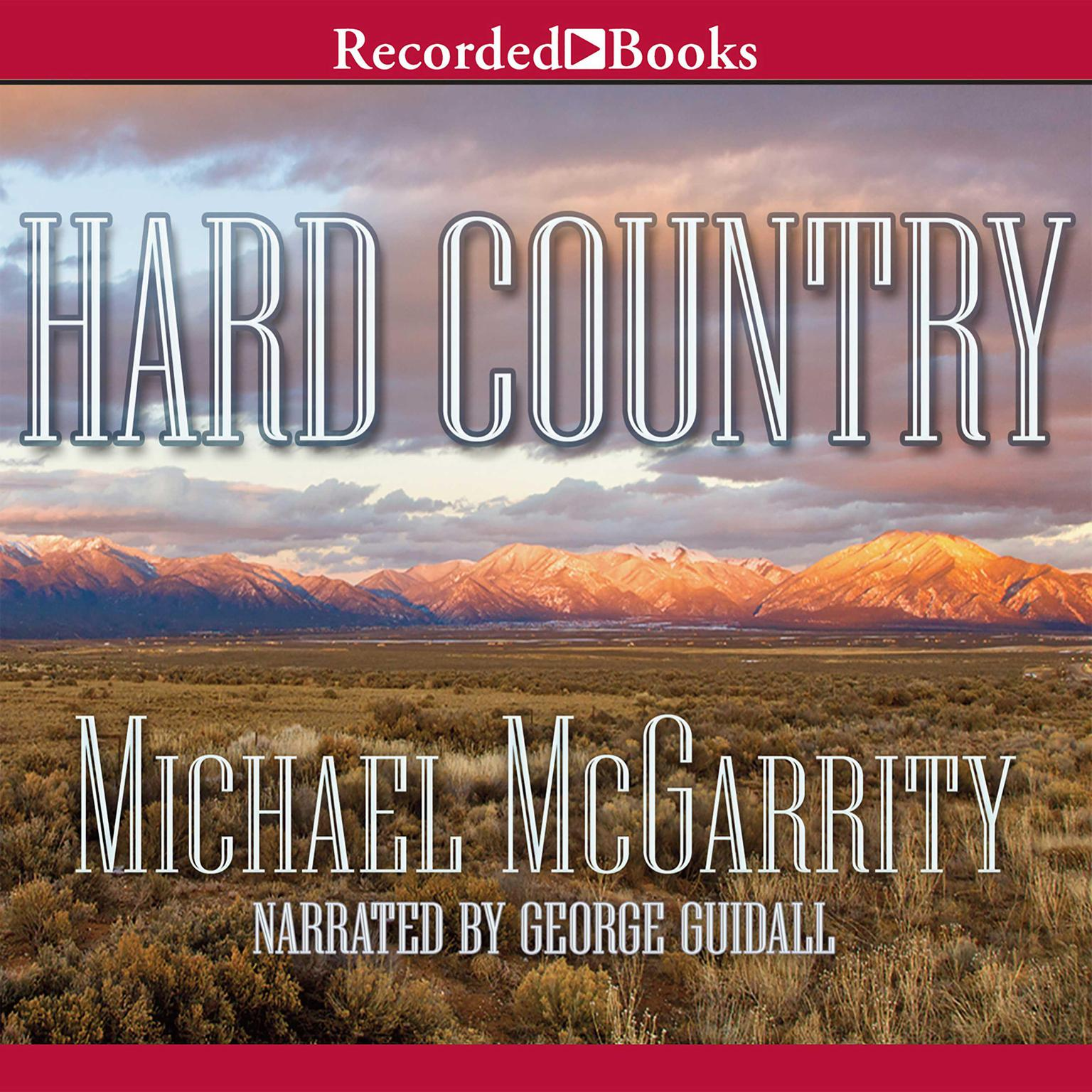 Printable Hard Country: A Novel of the Old West Audiobook Cover Art