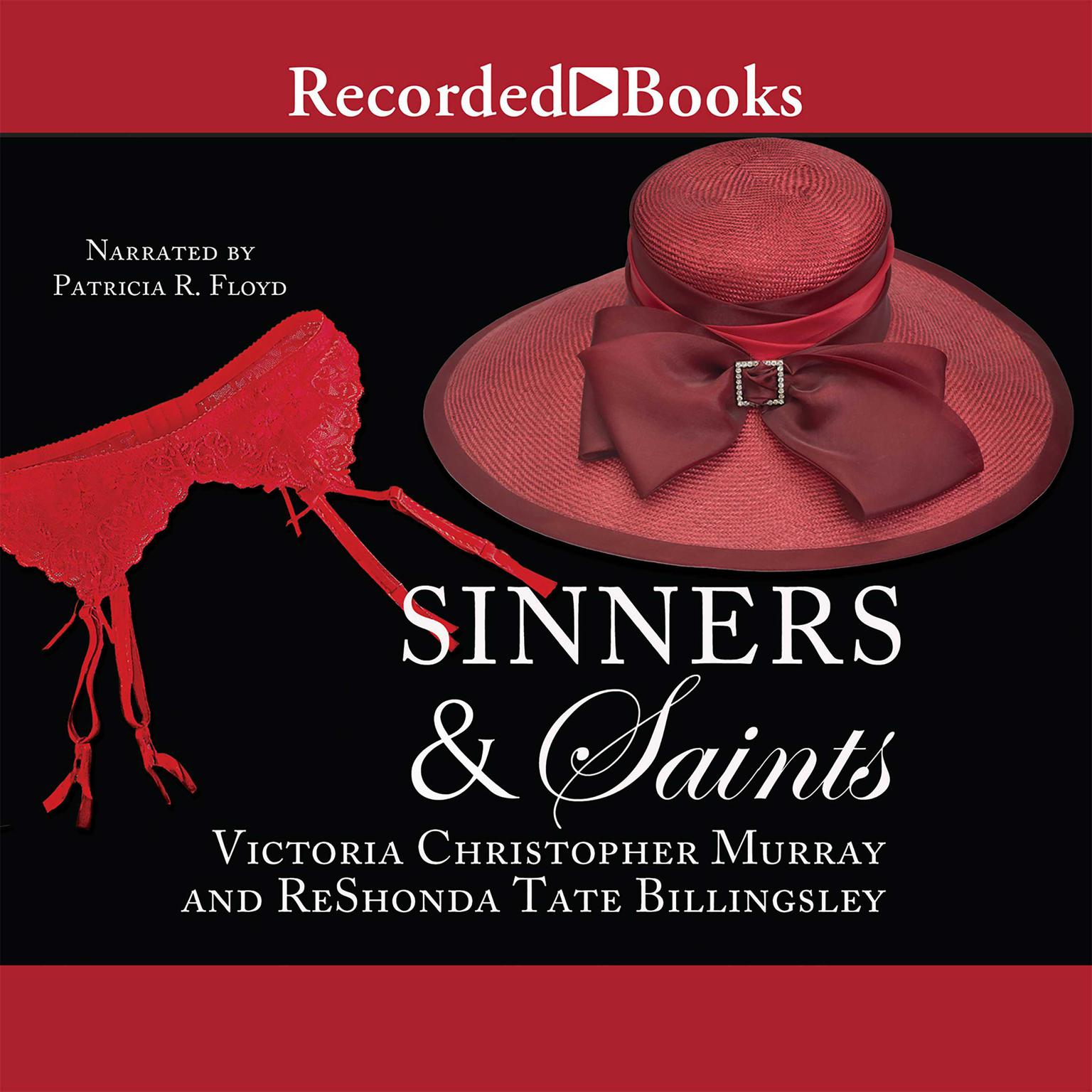 Printable Sinners & Saints Audiobook Cover Art