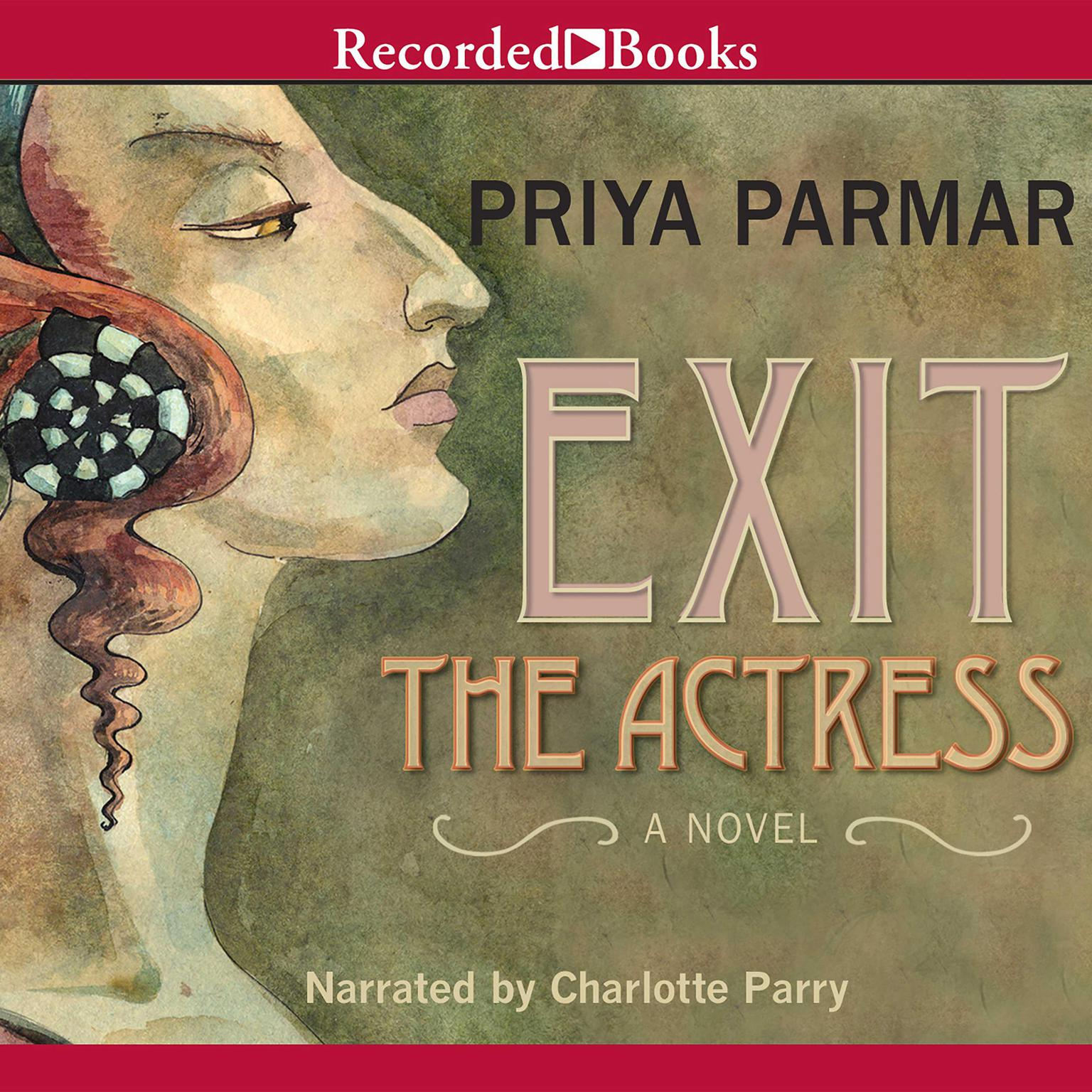 Printable Exit the Actress Audiobook Cover Art