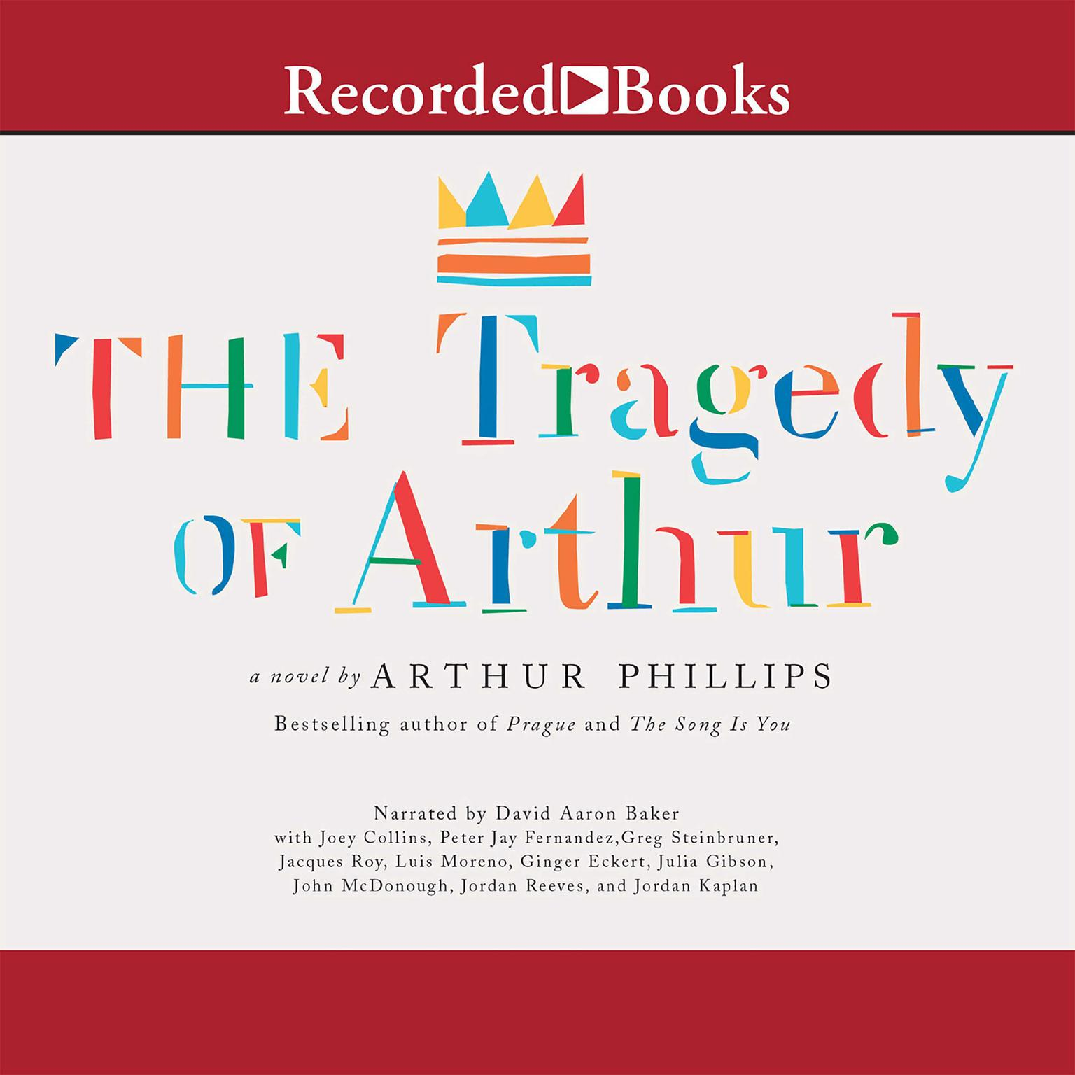 Printable The Tragedy of Arthur Audiobook Cover Art