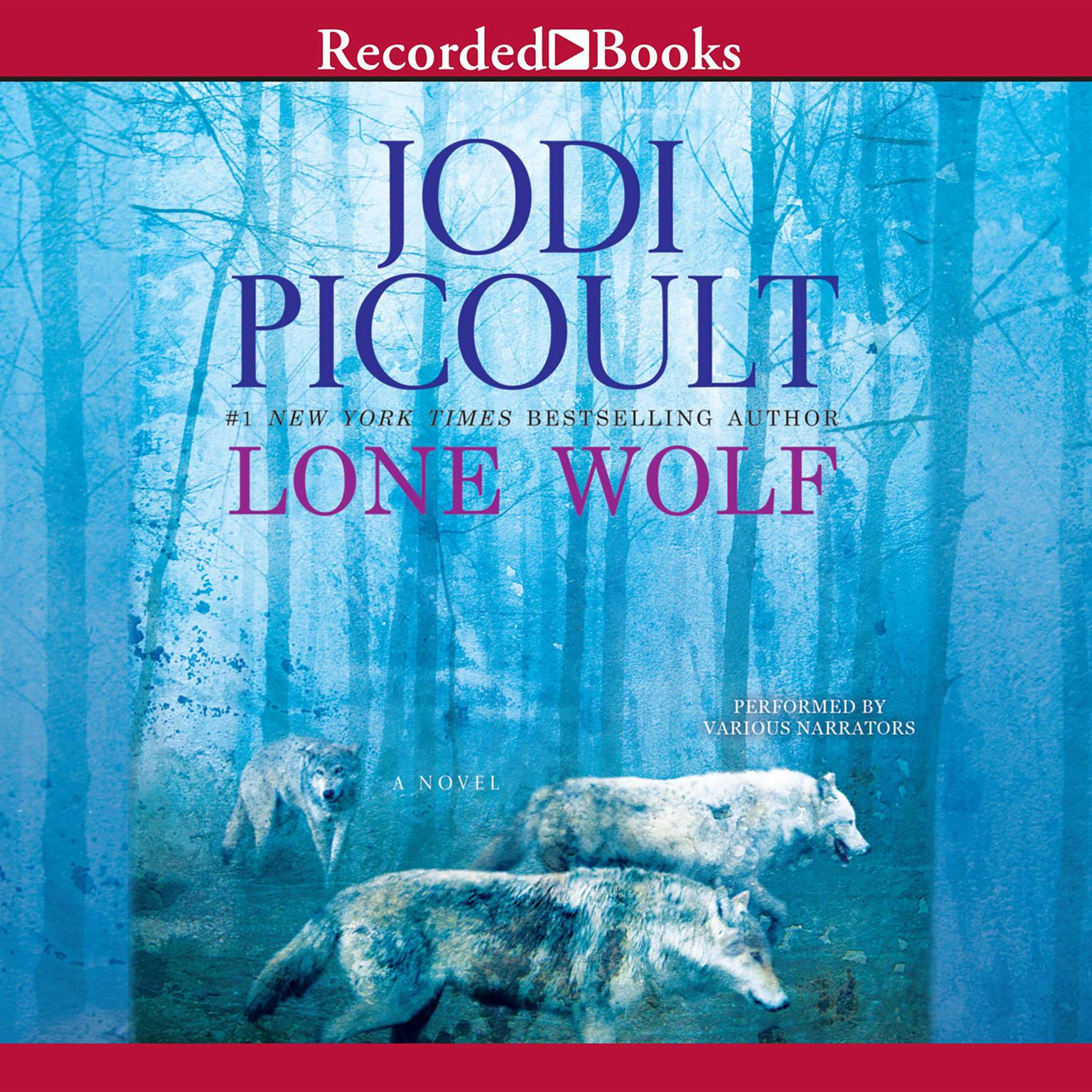 Printable Lone Wolf Audiobook Cover Art