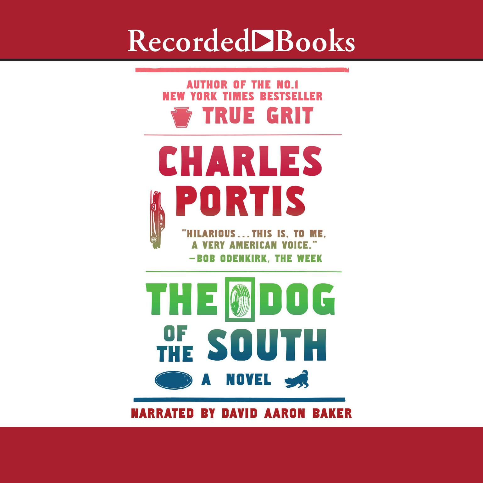 Printable The Dog of the South Audiobook Cover Art