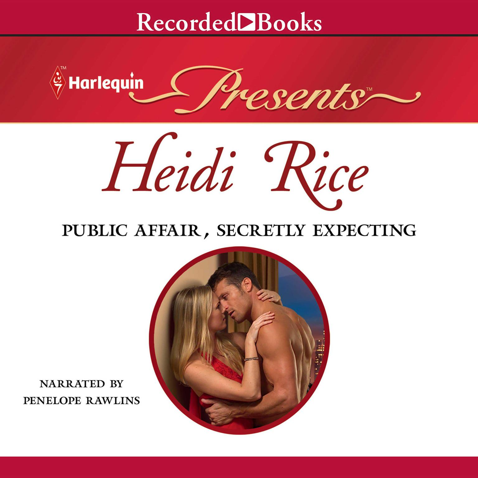 Printable Public Affair, Secretly Expecting Audiobook Cover Art