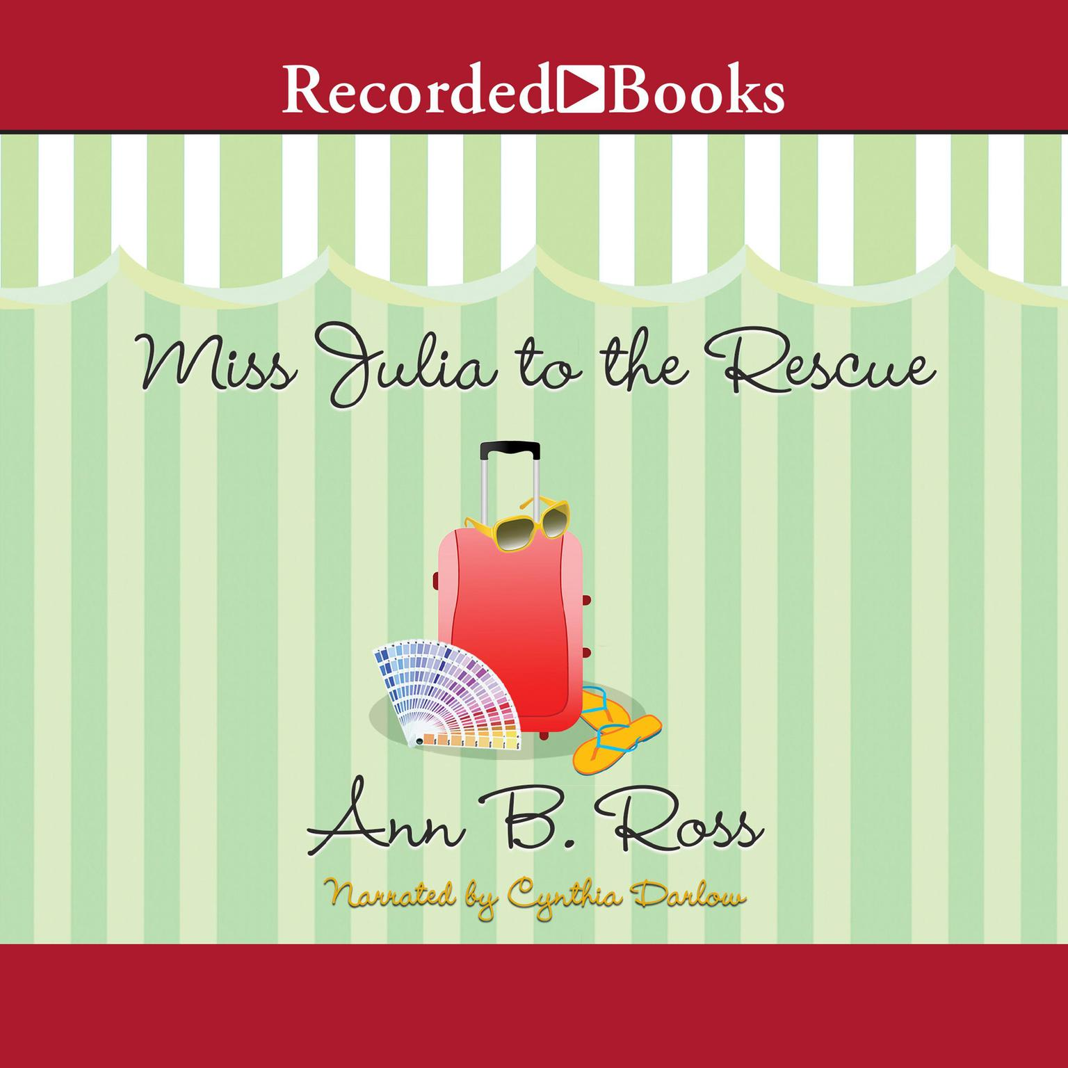 Printable Miss Julia to the Rescue Audiobook Cover Art