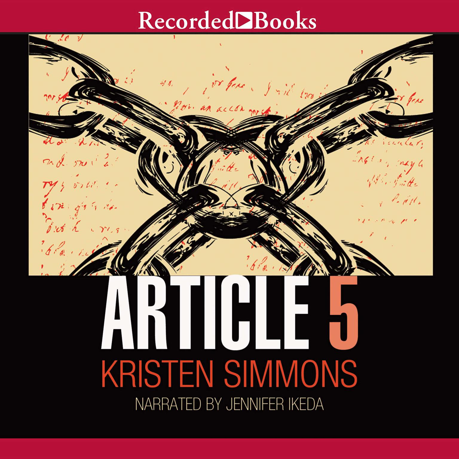 Printable Article 5 Audiobook Cover Art