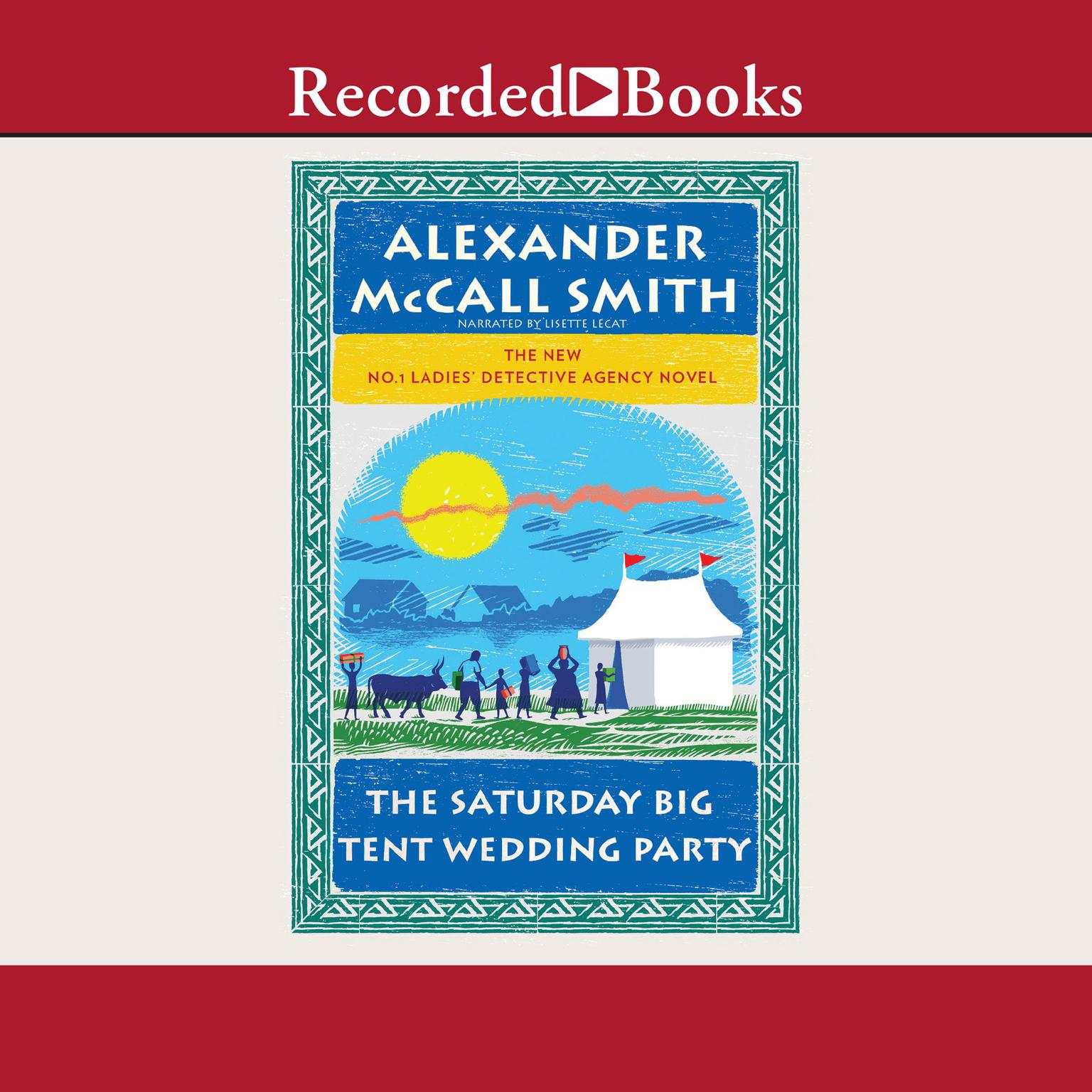 Printable The Saturday Big Tent Wedding Party Audiobook Cover Art