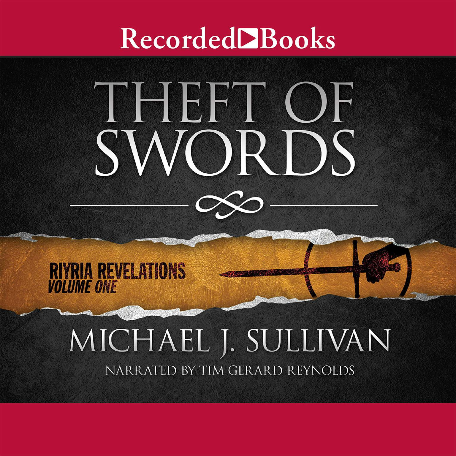 Printable Theft of Swords Audiobook Cover Art