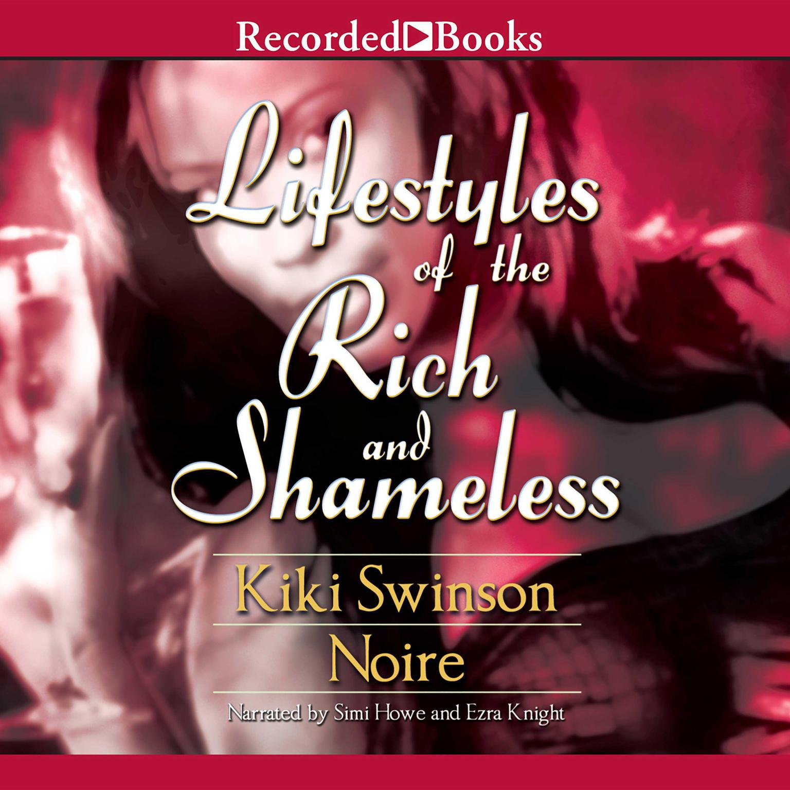 Printable Lifestyles of the Rich and Shameless Audiobook Cover Art