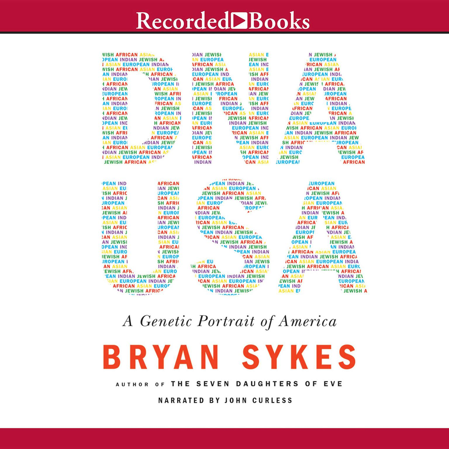 Printable DNA USA: A Genetic Portrait of America Audiobook Cover Art