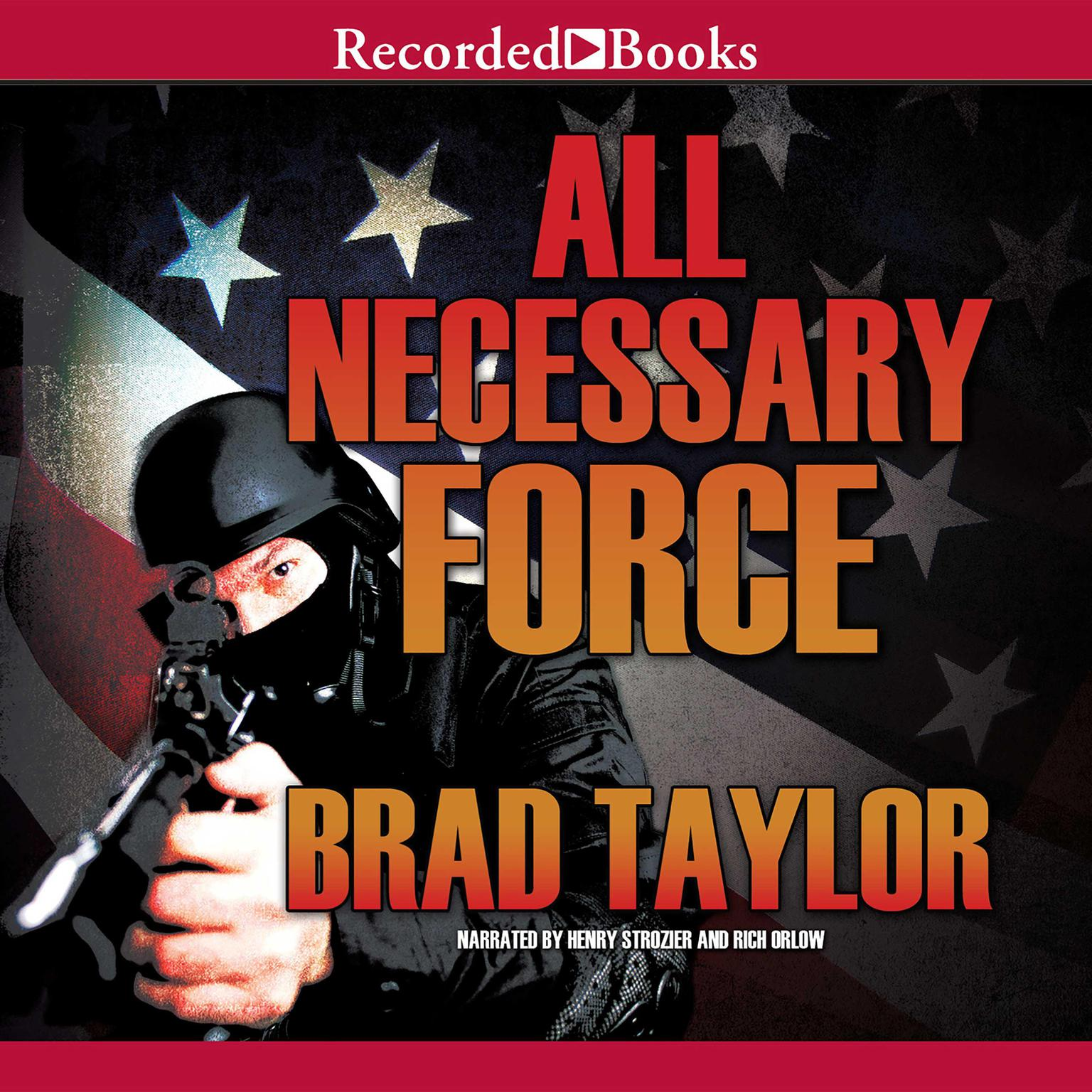 Printable All Necessary Force Audiobook Cover Art