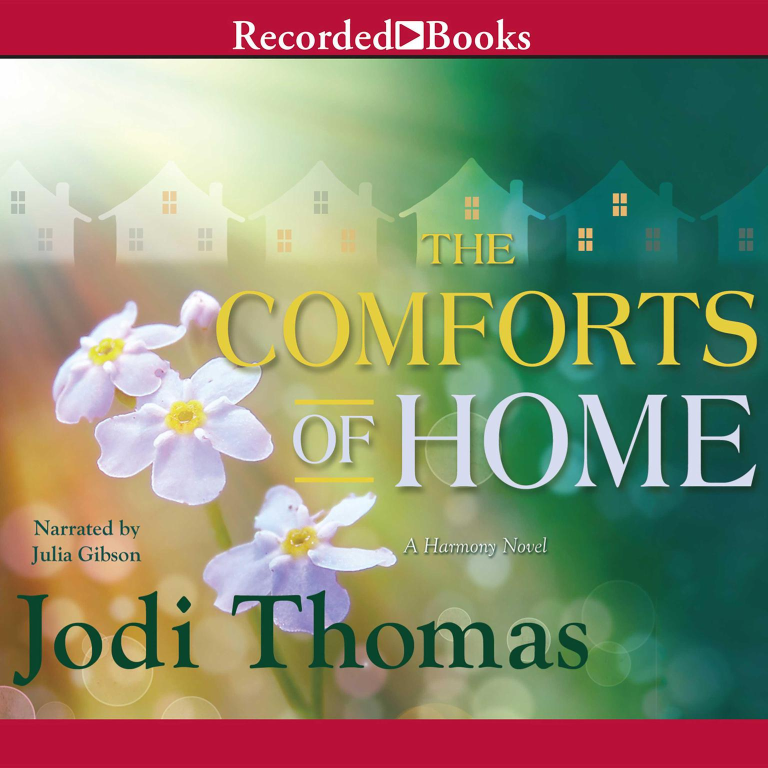 Printable The Comforts of Home Audiobook Cover Art