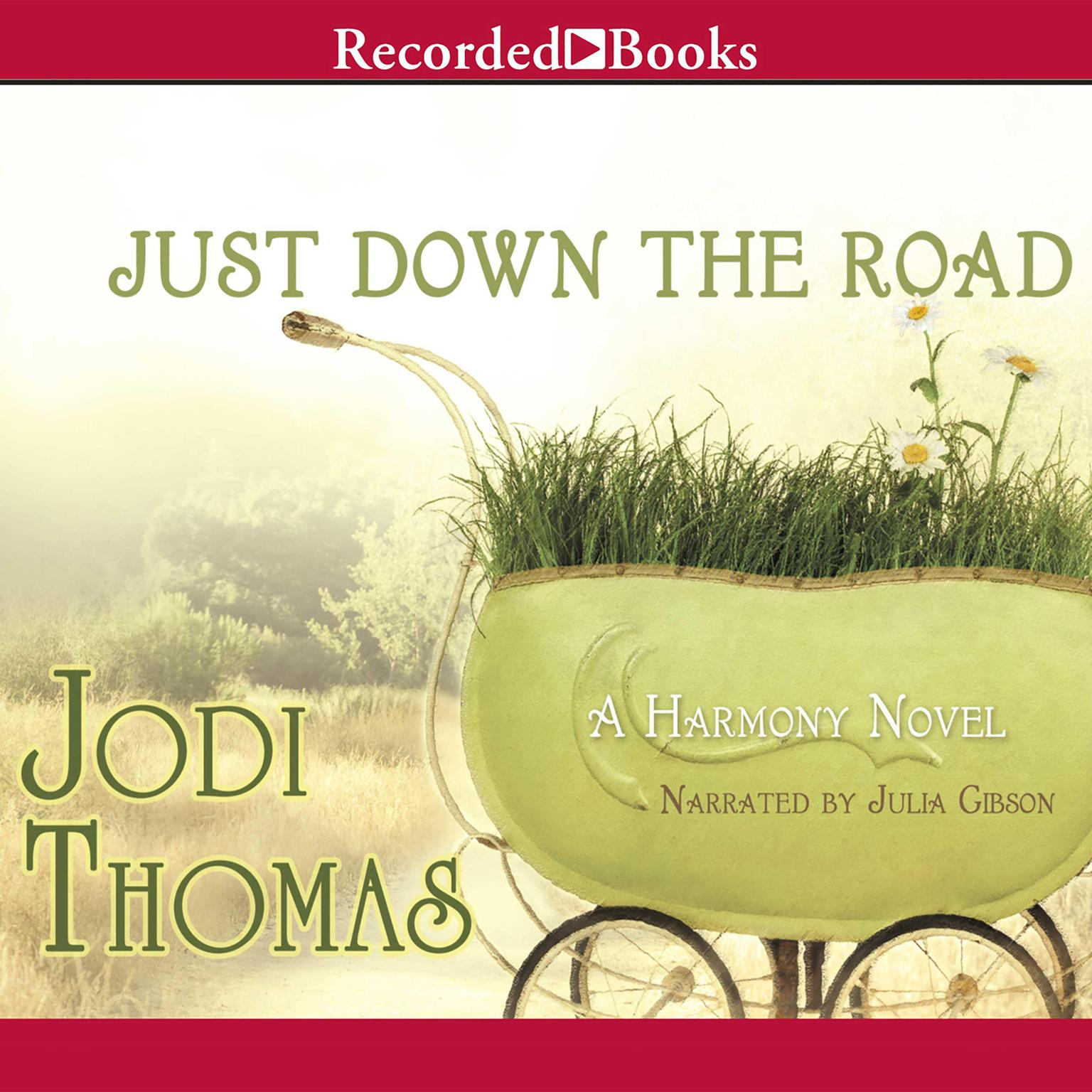 Printable Just Down the Road Audiobook Cover Art