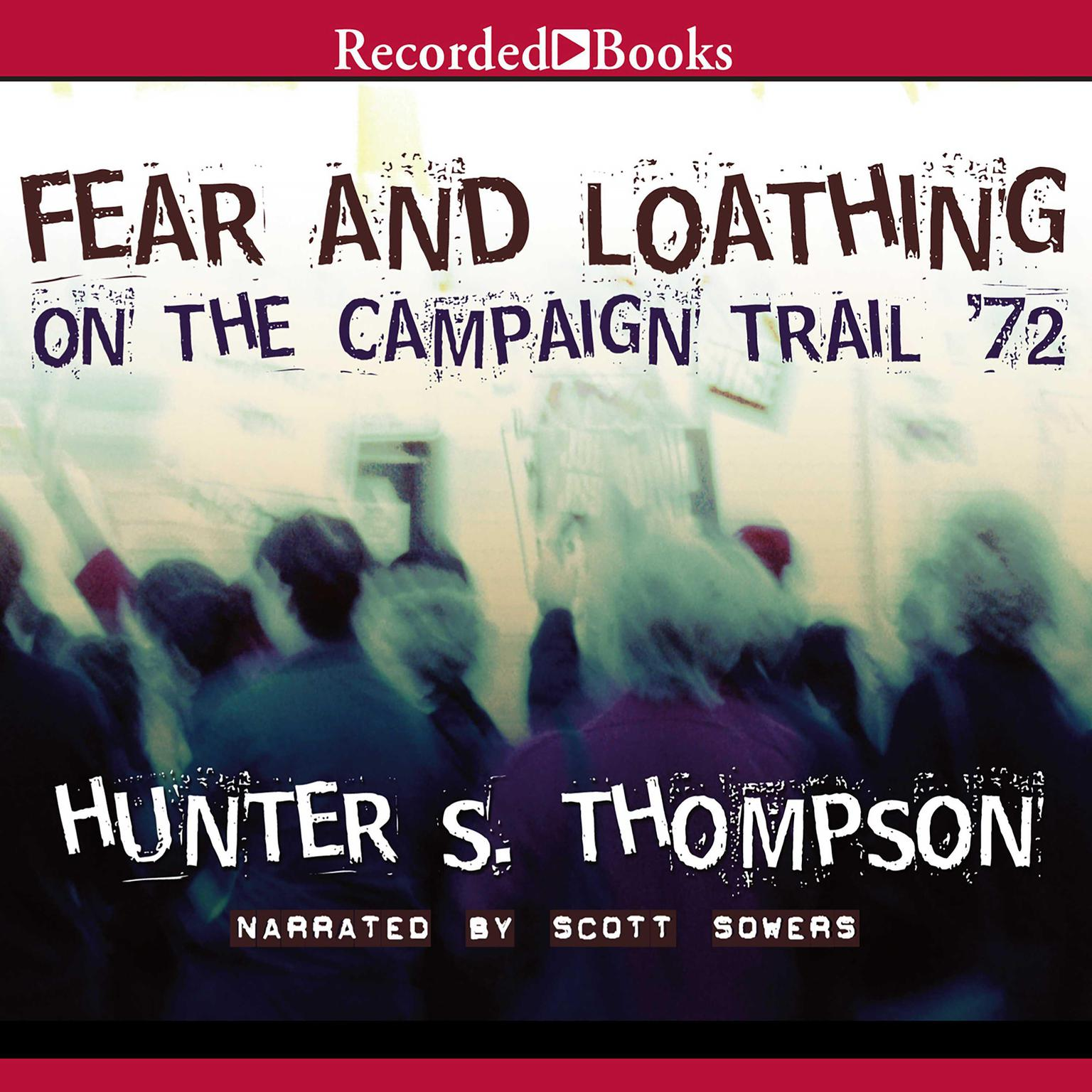 Printable Fear and Loathing on the Campaign Trail Audiobook Cover Art