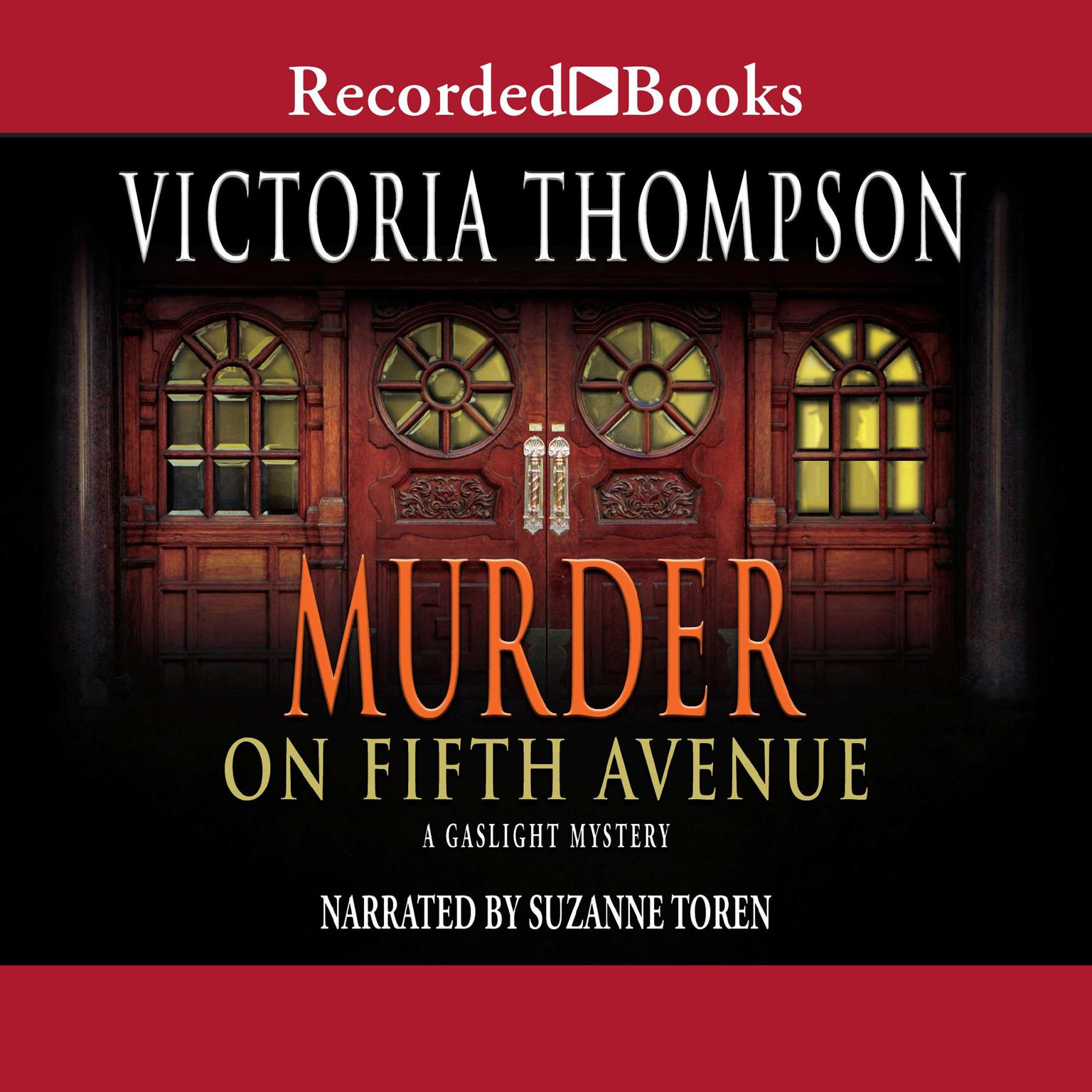 Printable Murder on Fifth Avenue Audiobook Cover Art