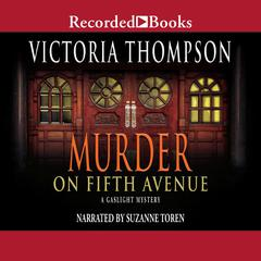 Murder on Fifth Avenue Audiobook, by Victoria Thompson
