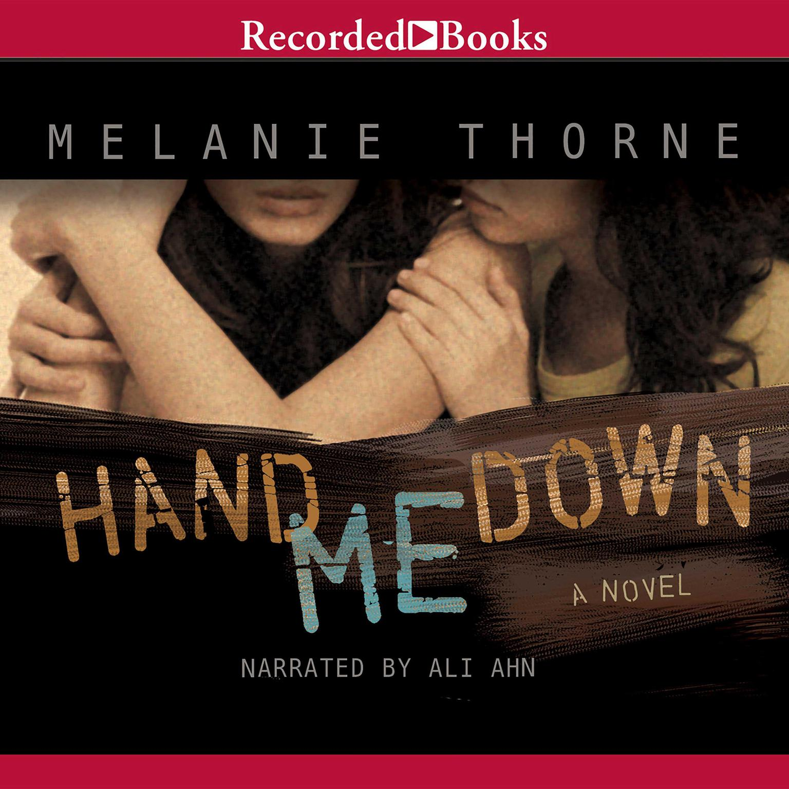 Printable Hand Me Down Audiobook Cover Art