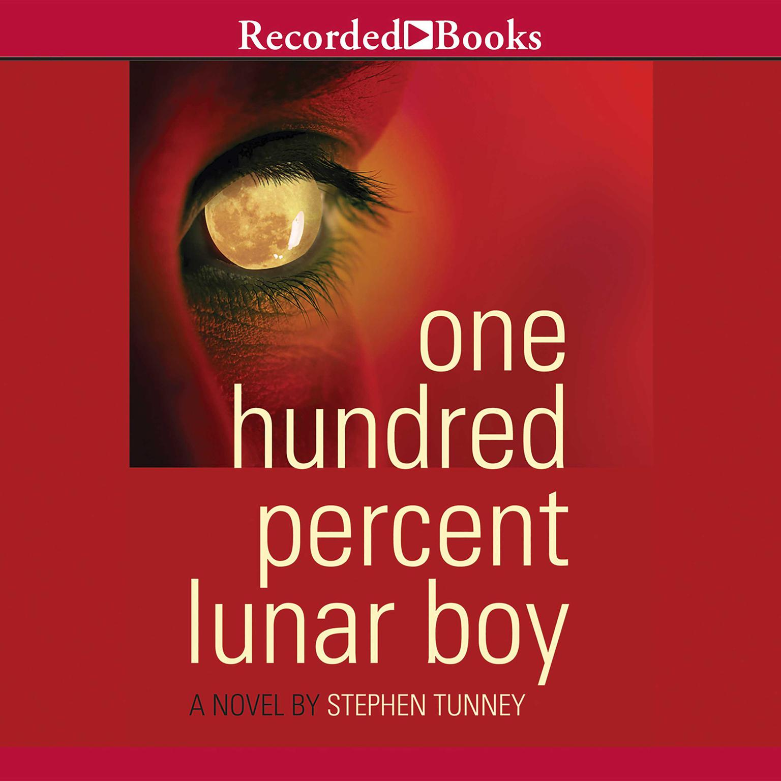 Printable One Hundred Percent Lunar Boy Audiobook Cover Art