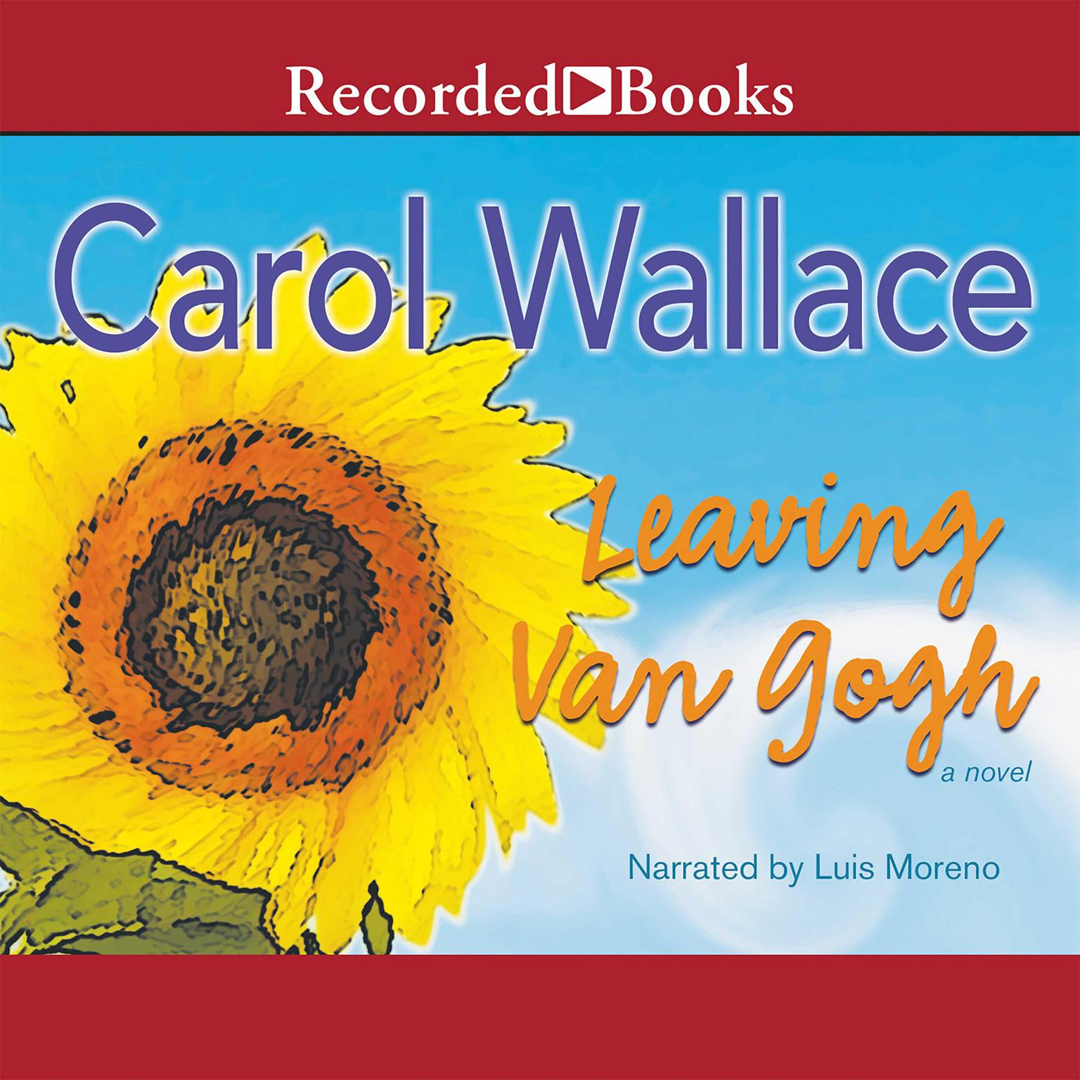 Printable Leaving Van Gogh Audiobook Cover Art