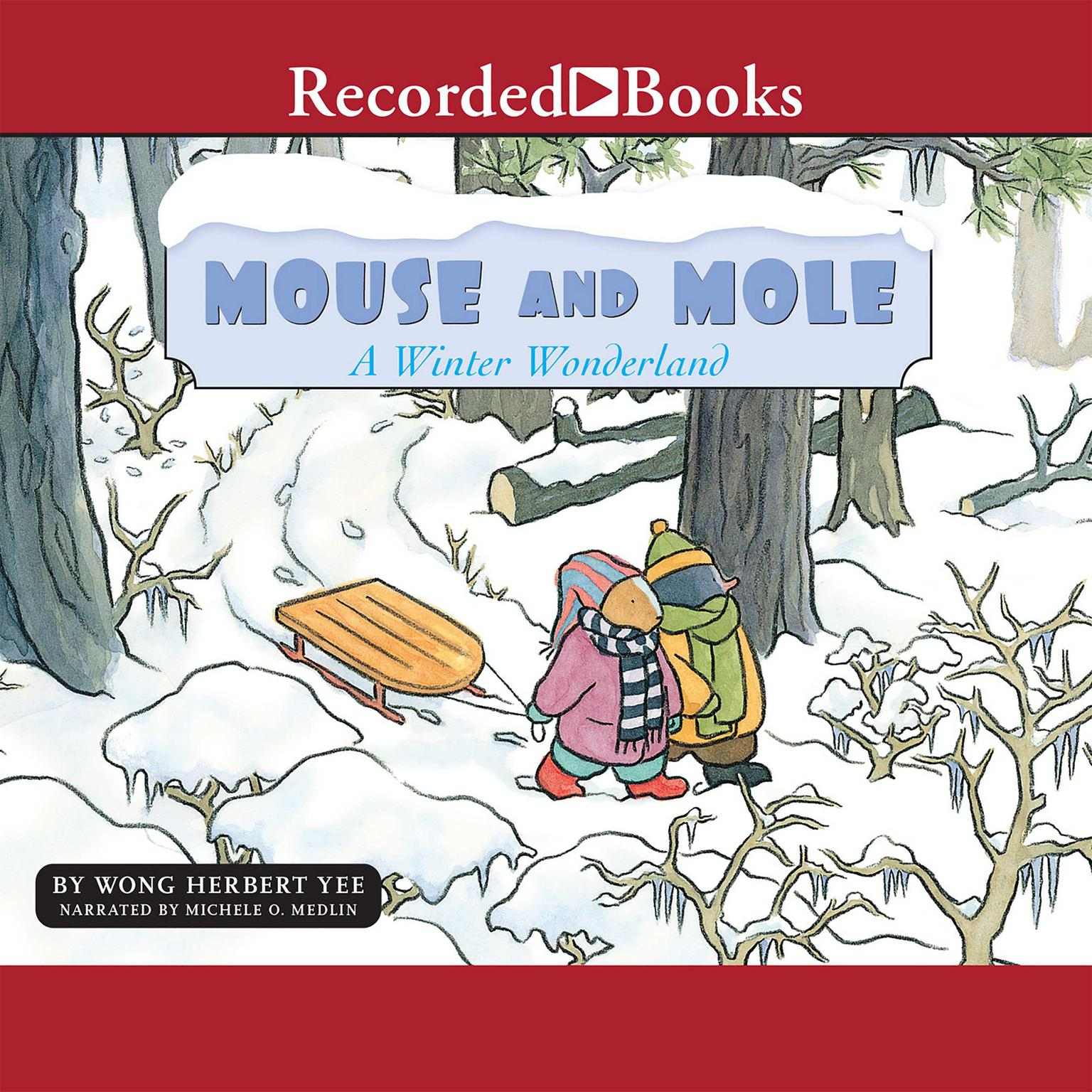 Printable Mouse and Mole: A Winter Wonderland Audiobook Cover Art