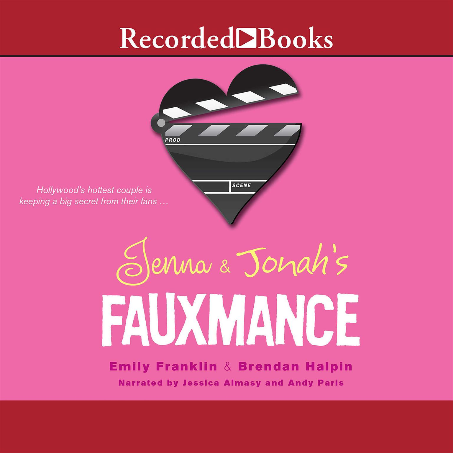 Printable Jenna and Jonah's Fauxmance Audiobook Cover Art