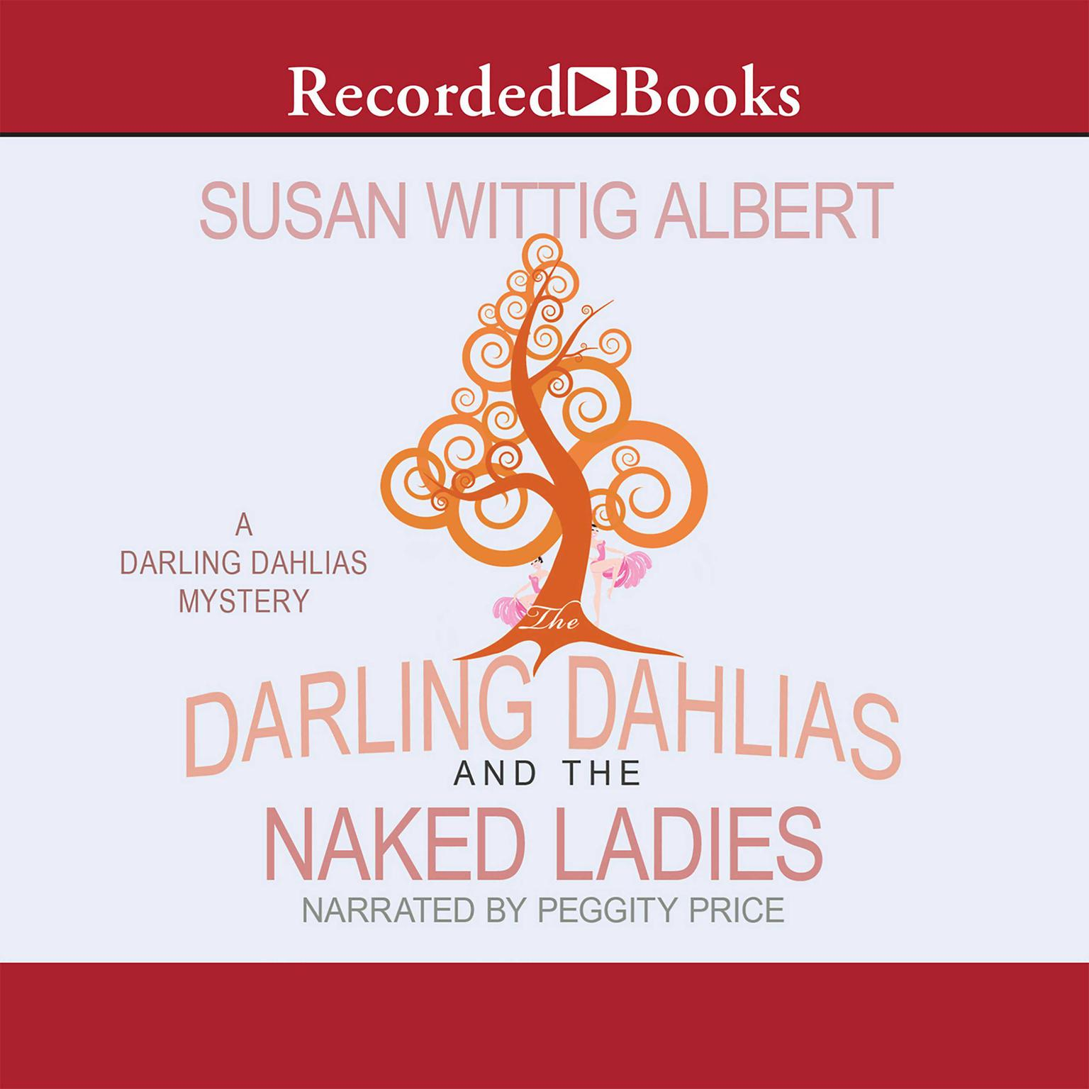 Printable The Darling Dahlias and the Naked Ladies Audiobook Cover Art