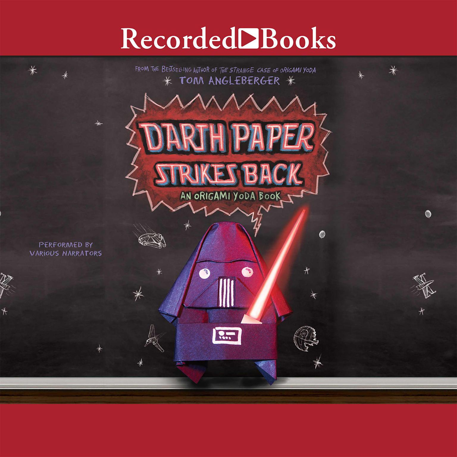 Printable Darth Paper Strikes Back Audiobook Cover Art