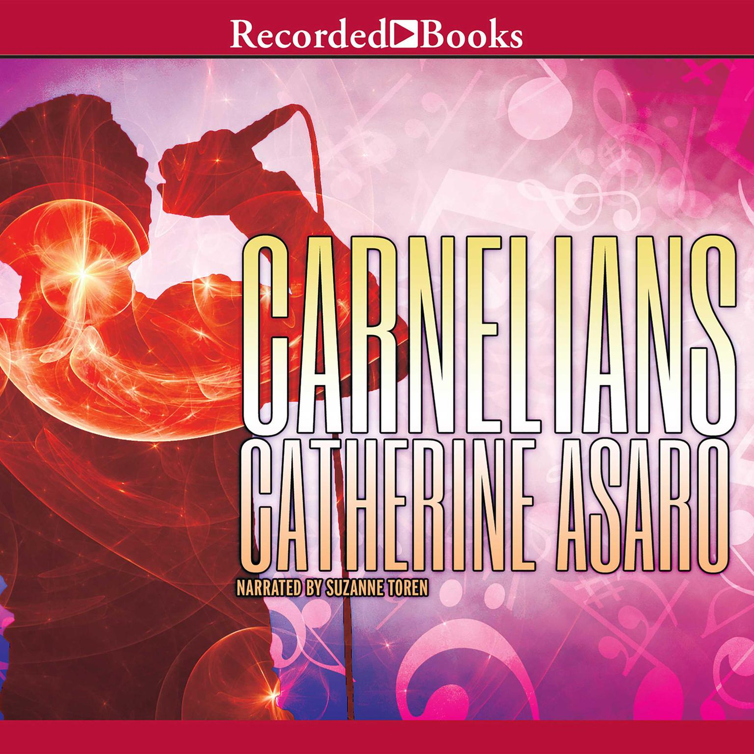 Printable Carnelians Audiobook Cover Art