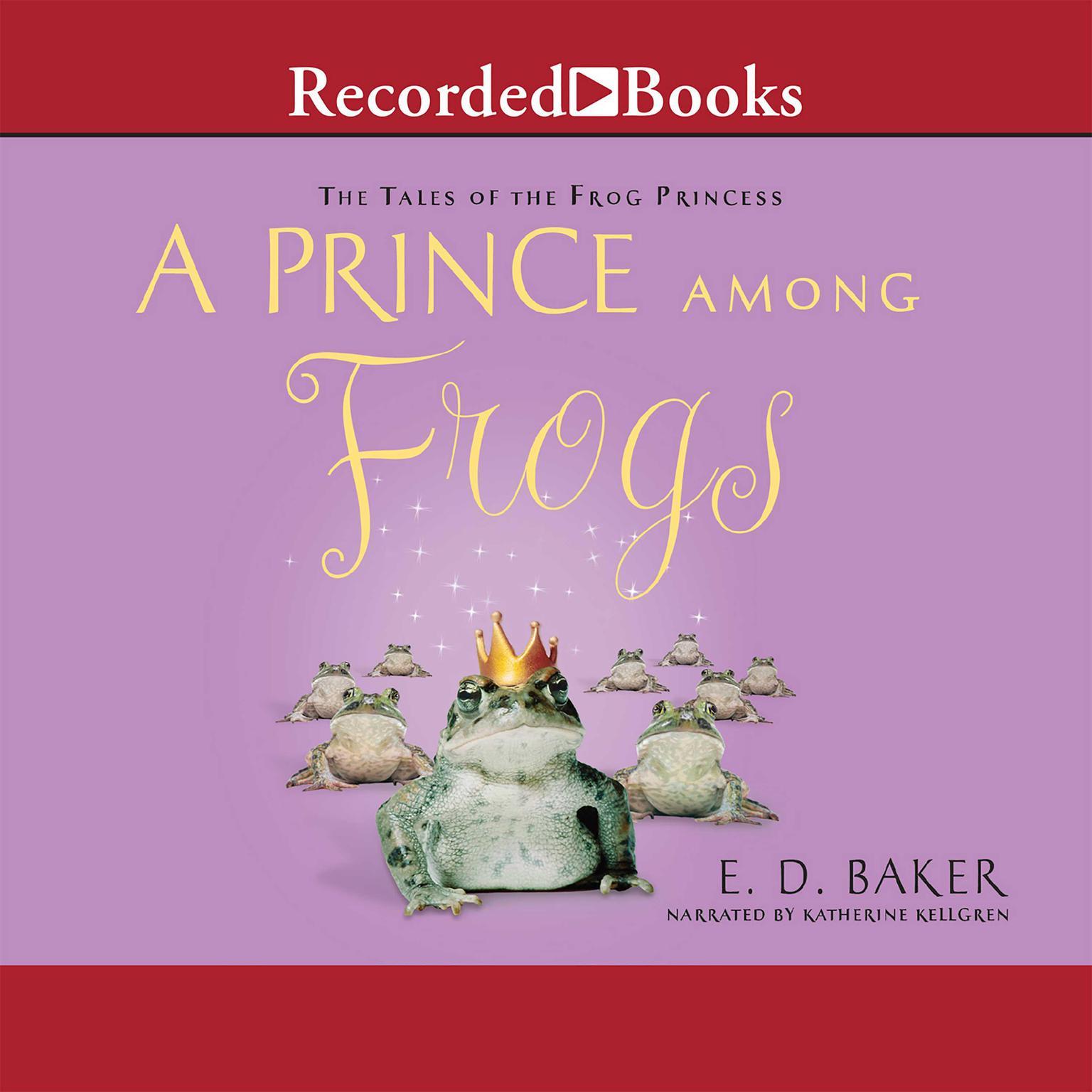Printable A Prince among Frogs Audiobook Cover Art