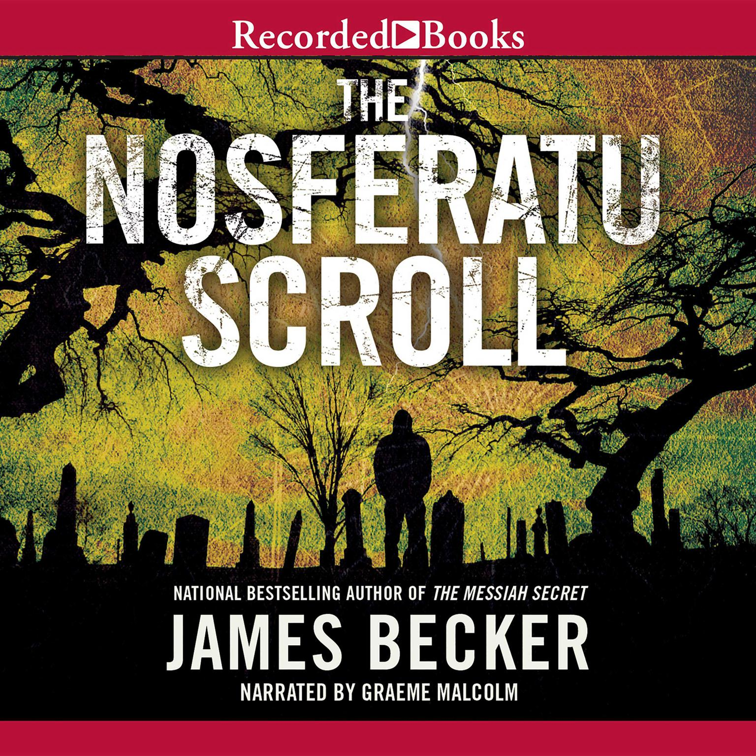 Printable The Nosferatu Scroll Audiobook Cover Art